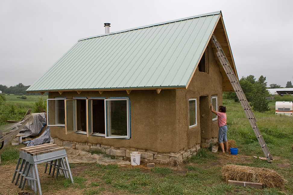 the cob house | happy campers the creations of hap & lin mullenneaux